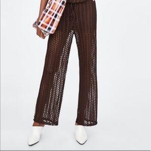 Zara mesh pants